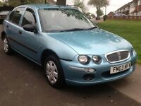 2003 Rover 25 long mot 1.4 litre 1 owner full service history 2 X keys BARGAIN!!!!!