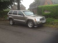 Jeep Grand Cherokee 3.0 CRD Ltd in gold with leather trim 55/plate