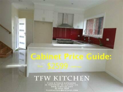 Complete Kitchen Cabinets with Polyurethane Door