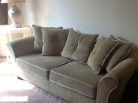 2 Green Sofas, drastically reduced for quick sale