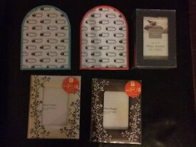 Bundle of New picture frames