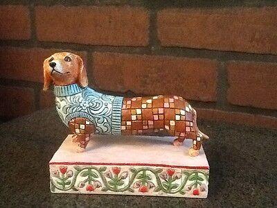 Dachshund Dog Figurine Longfellow Jim Shore Heartwood Creek Enesco for sale  Fort Lauderdale