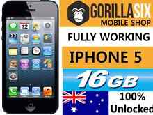 Fully working IPHONE 5. UNLOCKED PHONE ANY SIMCARD Strathfield Strathfield Area Preview