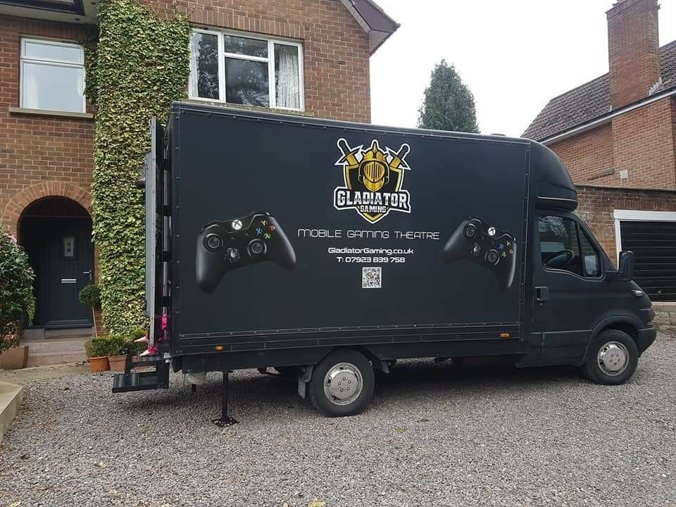 Mobile Gaming Van For Sale