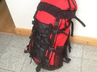 Rucksacks 50 litres upto 75litres-all lightly used in great condition-no damage-from £30 to £45each