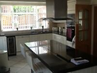 Granite kitchen worktops in excellent condition buyer to remove and collect