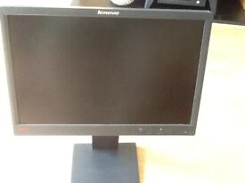 Lenovo think vision computer 19inch monitor