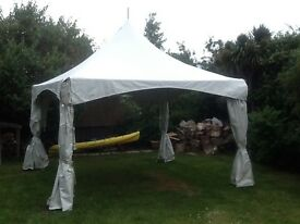 Large pro gazebo for sale 4x4 with pointy top
