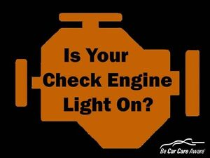 Diagnosing check engine lights or abs