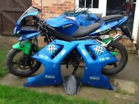 Honda white knuckle 125CC Spares or repair
