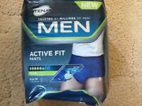 Tena Men Active Fit Pants size Med