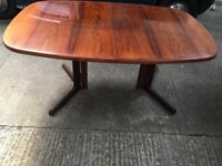 Retro Rosewood Table Length 52 inches Width 41 inches