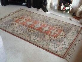 Lounge fireside rug.