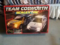 SCALEXTRIC SET TEAM COSWORTH SET. LOVELY CONDITION.