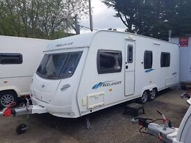 2009 Lunar Freelander 640 RS 4 berth caravan, FIXED BED, MOTOR MOVER, BARGAIN !!