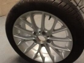 Genuine BMW Winter Tyres and Alloy Wheels