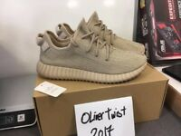 Men's Adidas Yeezy Boost 350 Tan Trainers size 9.5UK