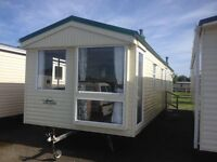 affordable family static caravan for sale on nice quiet site 10 mins walk to award winning beach