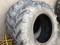 TRACTOR TYRES 16.9/28 (420/85/28)PIRELLI TM 600 RADIALS 50% TREAD GOOD CONDITION £295 FOR BOTH TYRES