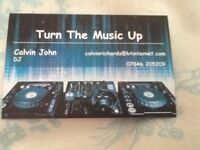 Mobile disco fully trained dj industry standard equipment and pat tested with public liability ins