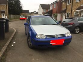 2000 Volkswagen Golf TDI (selling in parts ONLY)