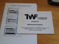 TWF 26/32 tv with free view built in