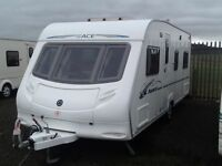 2007 ace award firestar fixed bed 4 berth