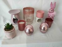 PINK ACCESSORIES PLUS CANDLE BURNERS