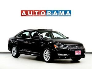 2013 Volkswagen Passat HIGHLINE PKG NAVI BACKUP CAM LEATHER SUNR
