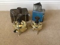 Vintage camping stoves