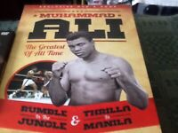 ALI boxing DVDS six Plus