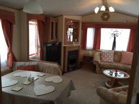 3 bedroom static caravan north wales Abergele facing ty Mawr