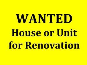 WANTED: To buy a House for Renovation Salisbury East Salisbury Area Preview