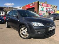 **BARGAIN** FORD FOCUS GHIA 1.6 (2006) - 5 DOOR - CRUISE - LOW MILES - NEW MOT - HPI CLEAR!
