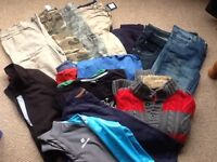 Age 9/10 boys clothes bundle, 20 quality items just £10.