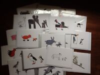 1000 Moo moo cute animal cards