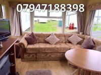 🌟🌟3 bed stunning static caravan with modern decor, sited at Sandy Bay Hol Park 5* facilities🌟🌟