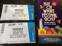 2 Full weekend Isle of Wight Festival Tickets