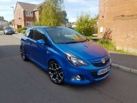2015 VAUXHALL CORSA 1.6T VXR 6 SPEED MANUAL ARDEN BLUE FACELIFT LOW MILEAGE 1 OWNER F.S.H