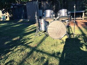 Drum Kit Tama Swingstar (early 80's) - snare drum - hardware Albion Brisbane North East Preview