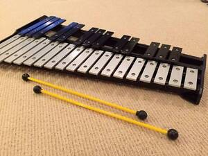 Selling Percussion instrument-Glockenspiel with 2 sticks. Gordon Ku-ring-gai Area Preview