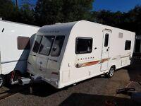 Bailey Unicorn Almeria 4 berth caravan 2012 ,FIXED BED, MOTOR MOVER, Awning !!