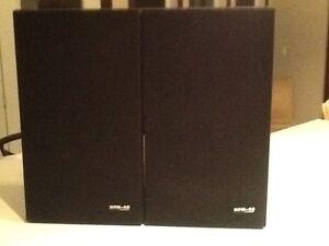 Vintage 70's Pioneer HPM 40 Stereo Speakers