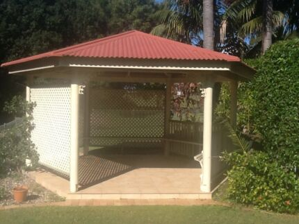 Gazebo 6 sided Rochedale Brisbane South East Preview