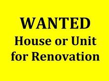 To buy a House for Renovation Wynn Vale Tea Tree Gully Area Preview