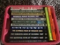 Job lot of Guiness world record books in a box