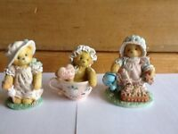 These Adorable 3 little Teddies are also Collectable. Beautifully crafted and hand painted.