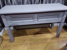 solid wood sideboard - console table - hall table