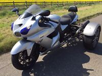 for sale / swap / px TRIKE KAWASAKI ZZR1400 2009