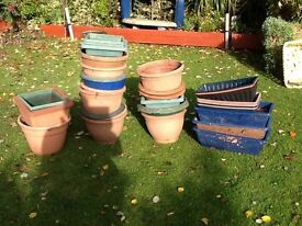 For sale,various garden tubs,
